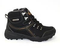 Высокие зимние мужские ботинки на шунровке