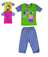 Пижама детская для девочки летняя