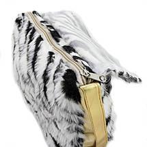 Детская сумка тигровая черно-белая, фото 2