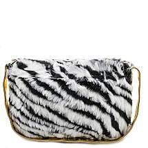 Детская сумка тигровая черно-белая, фото 3