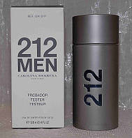 212 Men Carolina Herrera  (212 Мен Каролина Эррера)  ТЕСТЕР   100мл