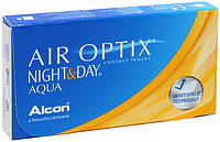 Контактные линзы Air Optix Night and Day Aqua 3 шт