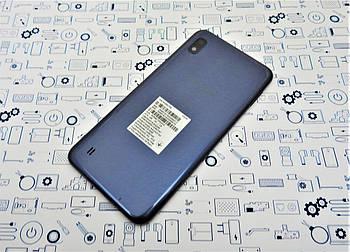 Задняя крышка Samsung A10 (2019) SM-A105F серая Сервисный оригинал с разборки