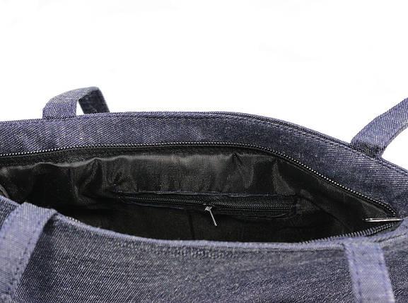 Легкая летняя джинсовая сумка 0033, фото 2