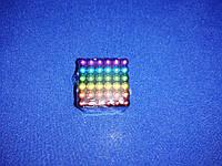 Головоломка магнитная Magnetic Cube (Неокуб) Радужный