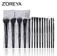 Набор кистей для макияжа 15шт Zoreya pride, фото 1