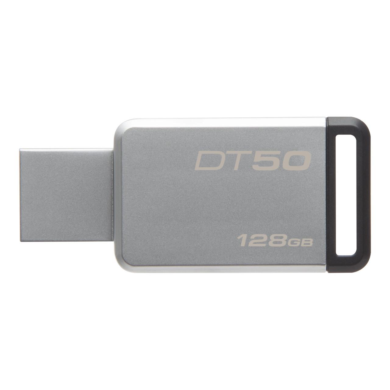 USB флеш Kingston Original DT50 128gb Metal USB 3.0