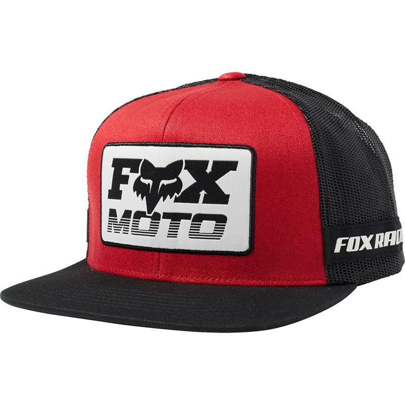 Кепка FOX CHARGER SNAPBACK HAT [BLACK RED], One Size
