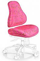 Чехлы для кресел Mealux Palermo Y-128 ткань розовая с рисунком, для кресла Y-128