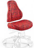 Чехлы для кресел Mealux Palermo Y-128 ткань красная с рисунком, для кресла Y-128