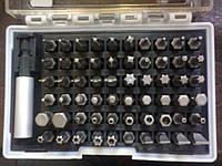 Набор бит 61шт.,магнитный адаптер МТХ 113879 Киев.