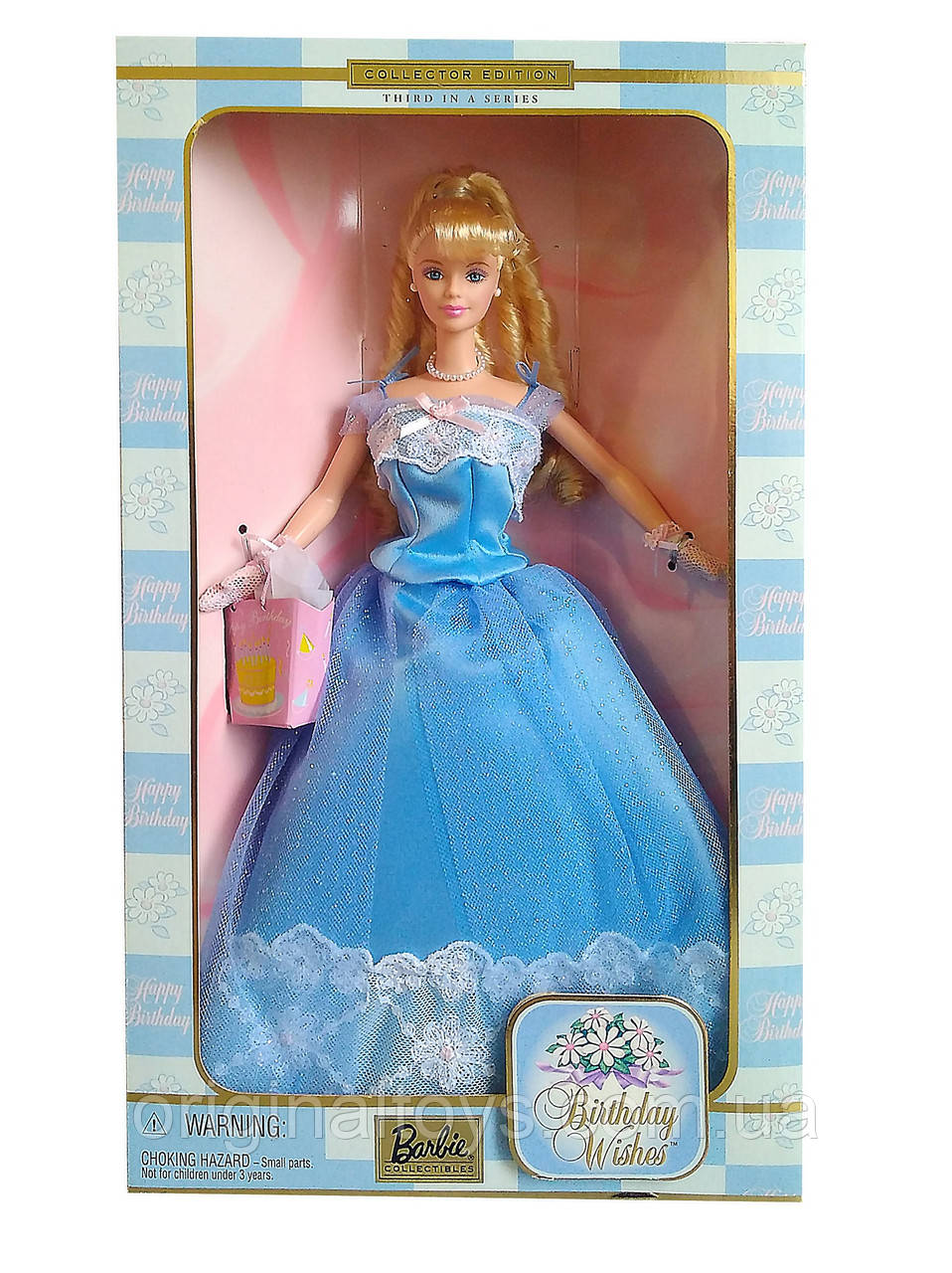 Коллекционная кукла Барби День Рождения Barbie Birthday Wishes 2000 Mattel 28434