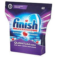 Таблетки для посудомоечных машин Finish Quantum Max 60 шт