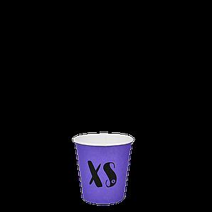 """Стакан 110мл. ФІОЛЕТОВИЙ """"XS"""", 50шт/рук; 20рук/ящ; 1000шт/ящ"""