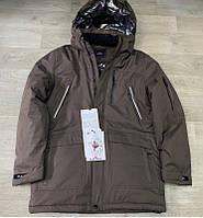 Куртки мужские зимние OKMEL Удлинённые