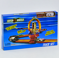 Автотрек Kutch Wheels S 8815, мертвая петля, 2 машинки, копия Hot Wheel, фото 1