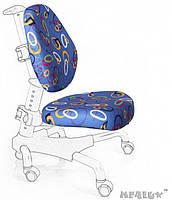 Чехлы для кресел Mealux Y-517 / Y-718 ткань синяя с кольцами, для кресла Y-517/Y-718