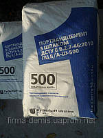 Цемент в мішках 25 кг