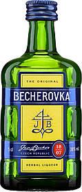 Ликерная настойка Becherovka, 0.05л