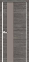 Дверь межкомнатная Омис Cortex Alumo 03 graphite ash line