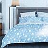 """Комплект постельного белья ТЕП™  """"Star Blue 014"""" 150х215см  Ранфорс"""