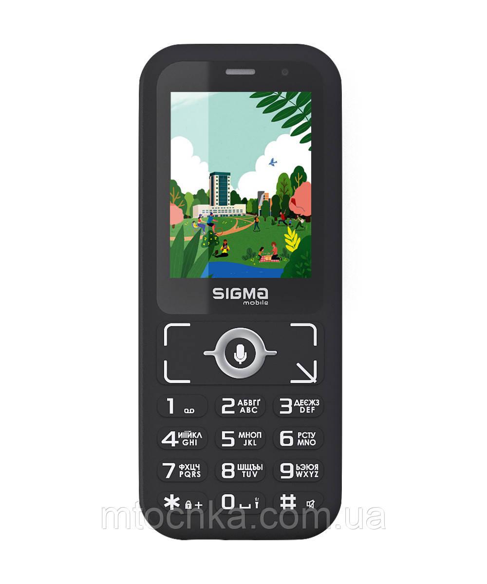 Мобильный телефон Sigma mobile X-style S3500 sKai black (официальная гарантия)