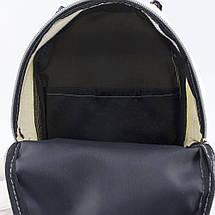 Женский молодежный рюкзак с пайетками и ушками r-11, фото 2