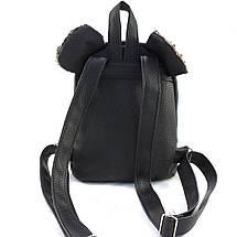 Женский молодежный рюкзак с пайетками и ушками r-11, фото 3