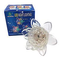 Светильник-ночник LED подсолнух