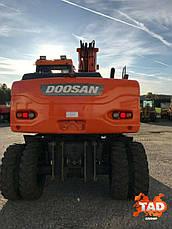 Колесный экскаватор Doosan DX160W (2011 г), фото 2