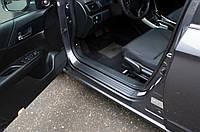 Накладки на внутрішні пороги дверей Honda Accord IX (седан) 2012-2015 р. в.