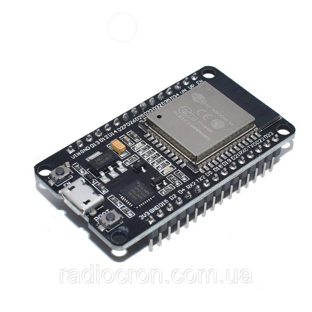 WiFi Bluetooth модуль ESP-32 LuaNode32 (WROOM-32 CP2102)
