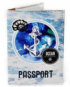 Обложка для паспорта «Якорь» PASSPORTY 113
