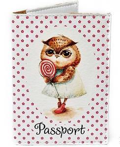 Обложка для паспорта «Сова» PASSPORTY 60
