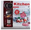 Большой комплект детской кухонной посуды Shantou Jinxing 555-BX010 (25 элементов), фото 2