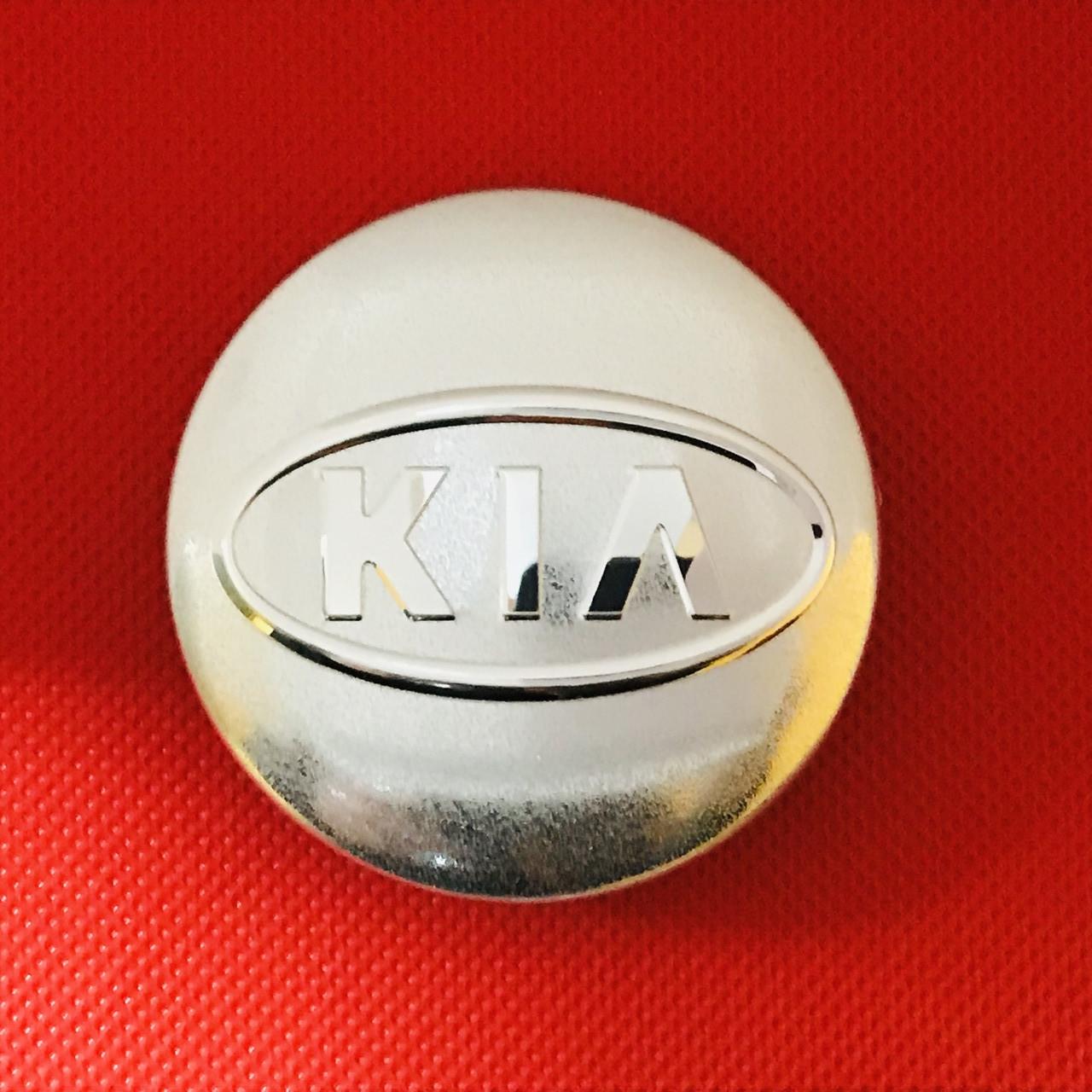 Колпачок заглушка для диска в диск Kia Киа k (58/50 мм)