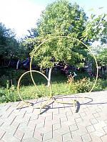 Каркас для баннера / арка крулгый (диаметр внешний 2 метра)