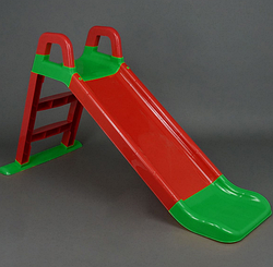 Горка для катания.Горка детская пластиковая сборная для малышей.Горка детская маленькая. красный