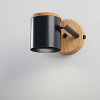 Бра в стиле лофт loft Дизайнерский черный настенный светильник