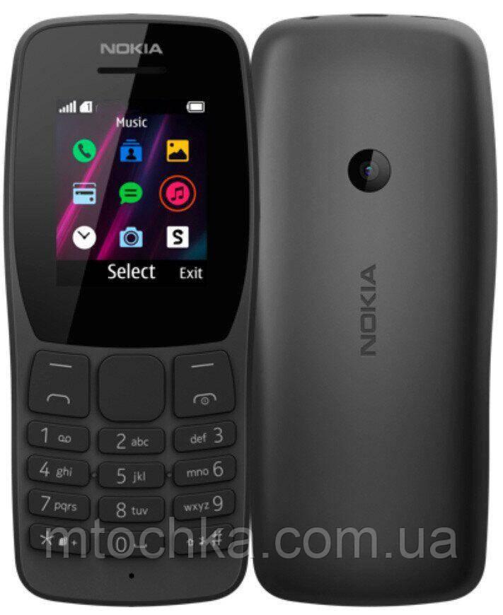 Мобильный телефон Nokia 110 Dual Sim 2019 Black (официальная гарантия)