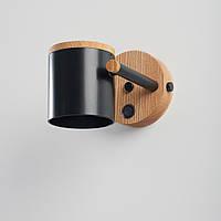 Бра в стиле лофт с выключателем Дизайнерский черный настенный светильник