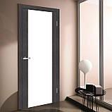 Двері міжкімнатні Оміс Cortex Gloss triplex молочний, фото 3