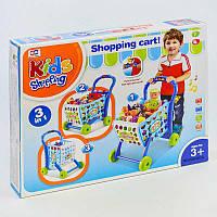 Игровой набор Супермаркет со светом, музыкой и тележкой с продуктами R182867