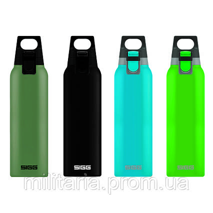 Термос SIGG Thermo Flask Hot & Cold ONE Green 0.5l 8694.10, фото 2