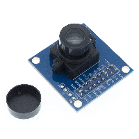 VGA камера OV7670, 0.3 Мп модуль (SCCB, I2C, IIC)