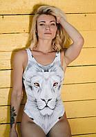 Купальник GoFit Women Купальники GoFit Women XS Купальник White Lione С абстрактным принтом 67974906 SKU_39702356-15326010358840