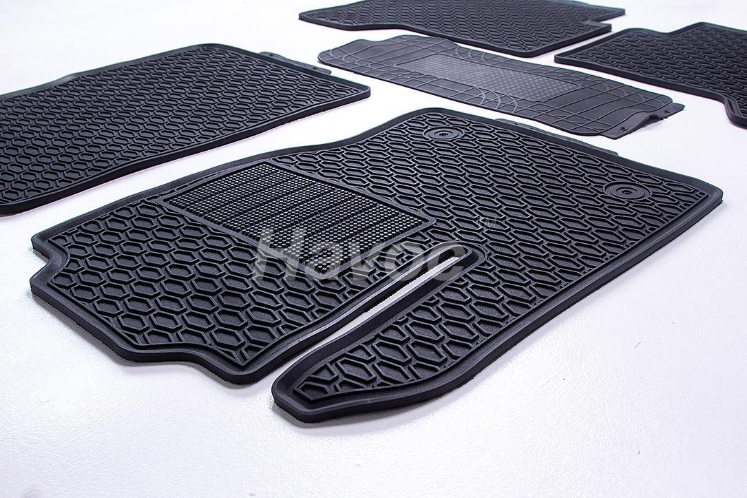 Оригинальные коврики Ford Kuga с 2012 HAVOC резиновые в салон полный комплект