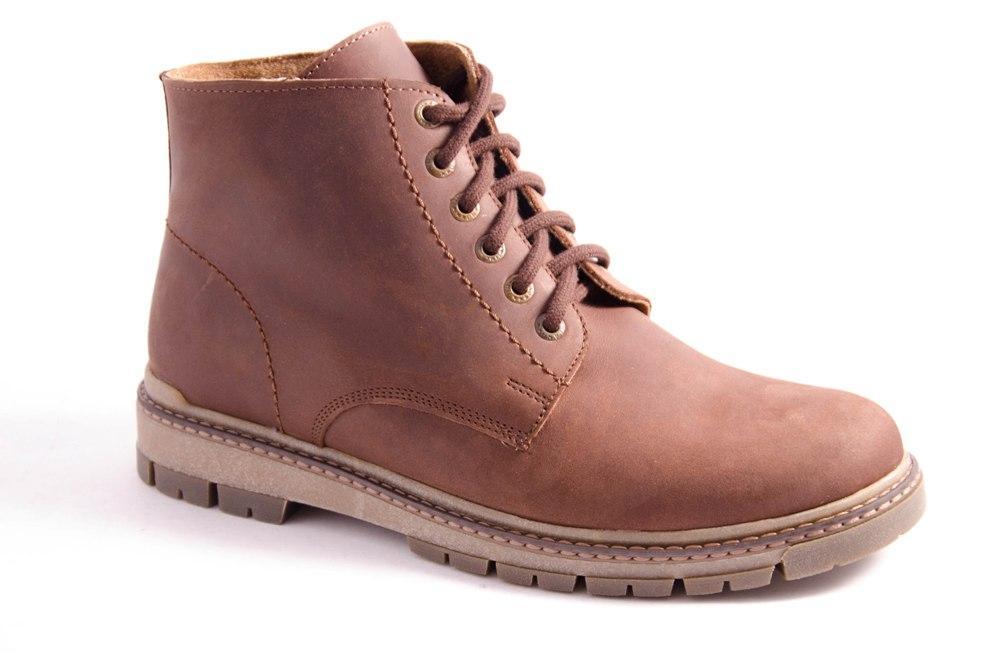 Ботинки мужские коричневые Romani 1142106 р.40-45