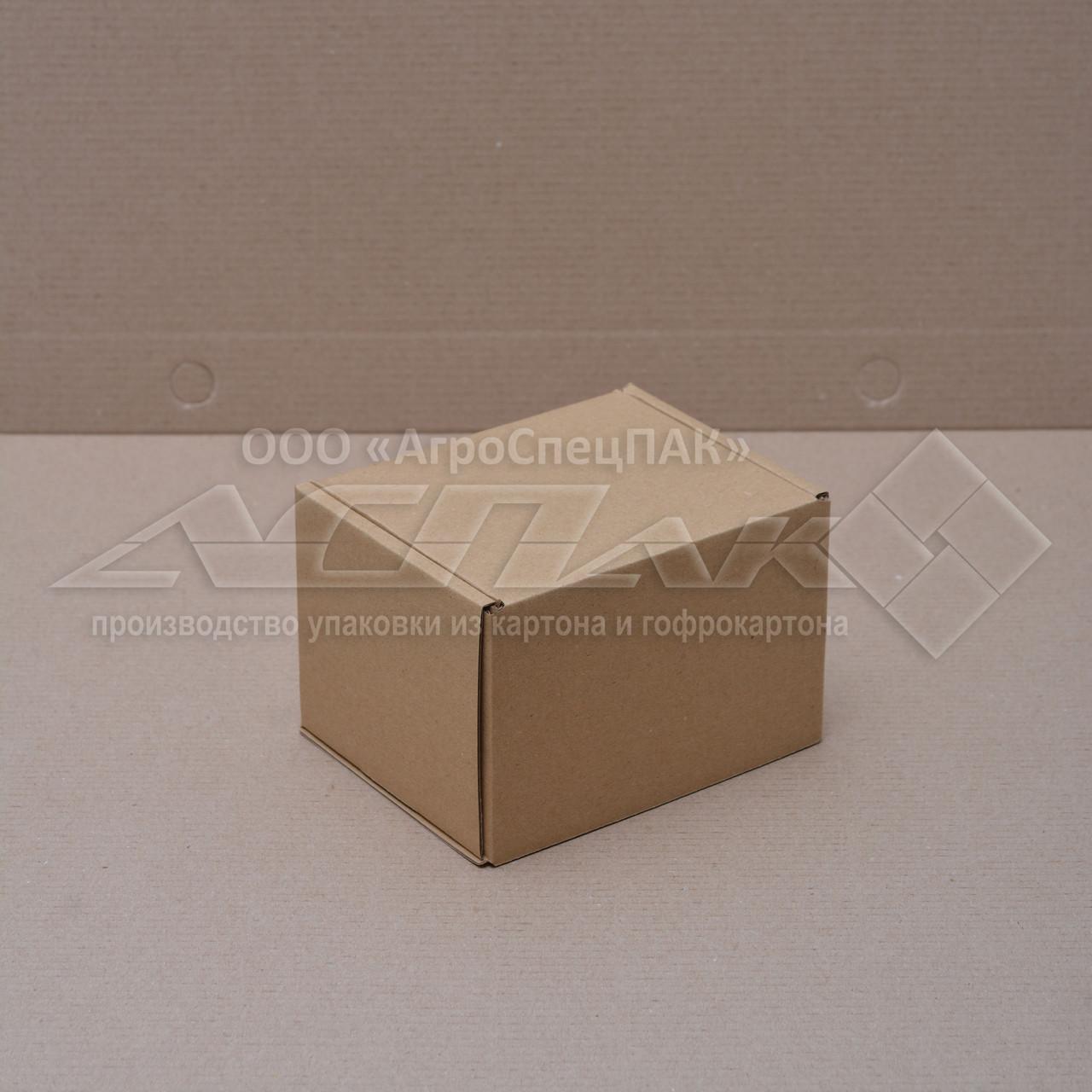 Картонные коробки для чашек 115*100*85 крафтовые