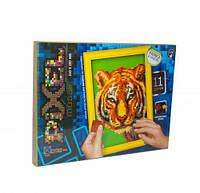 Мягкая мозаика  Pixel ,  Тигр